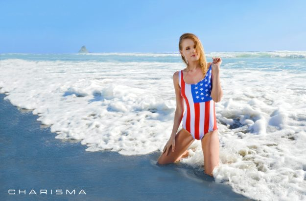 Colin Charisma - Natasha USA Swimsuit